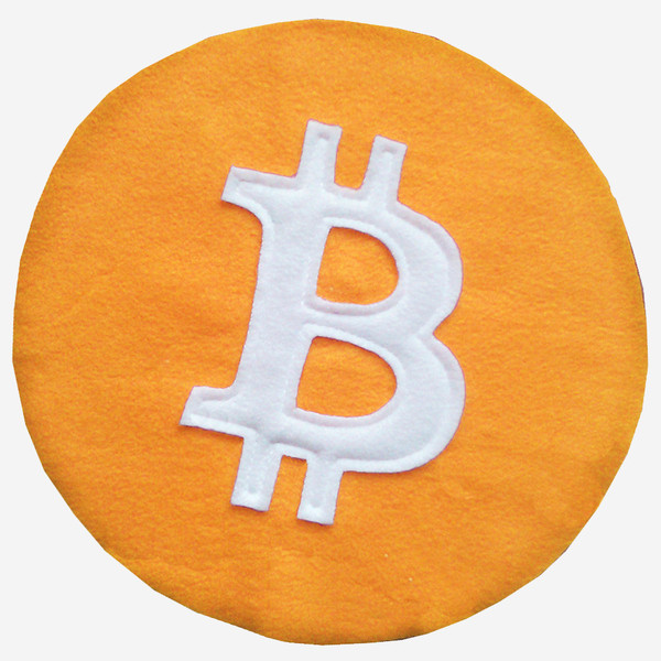 Craftsquatch Bitcoin Pillow
