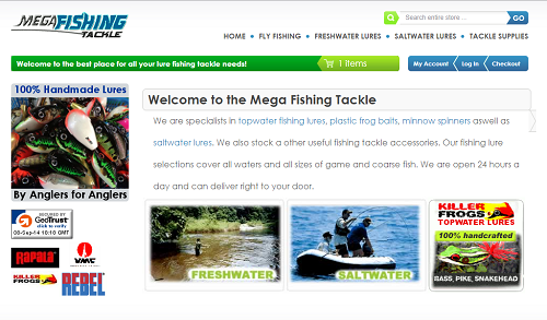 Mega Fishing Tackle