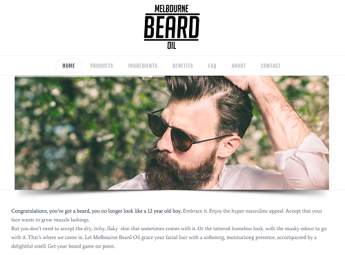 Melbourne Beard Oil