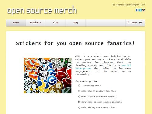 Open Source Merch