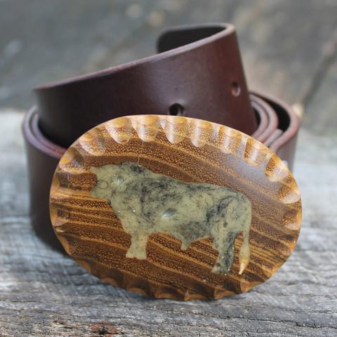 Osage's Reh Bull Series belt