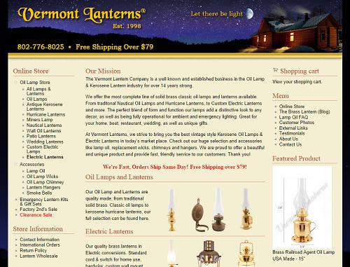 Vermont Lanterns